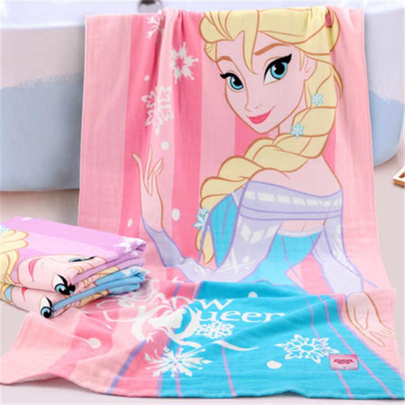 Disney Frozen Bath Beach towel 140 x 70 cm 100/% Cotton Princesses Elsa and Anna