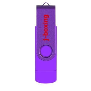 Image 2 - Lila USB Flash Drive OTG High Speed Memory Stick 64GB 32GB 16GB 8GB Speicher Dual Micro USB Stick Für Android/Tabletten/PC/Mac