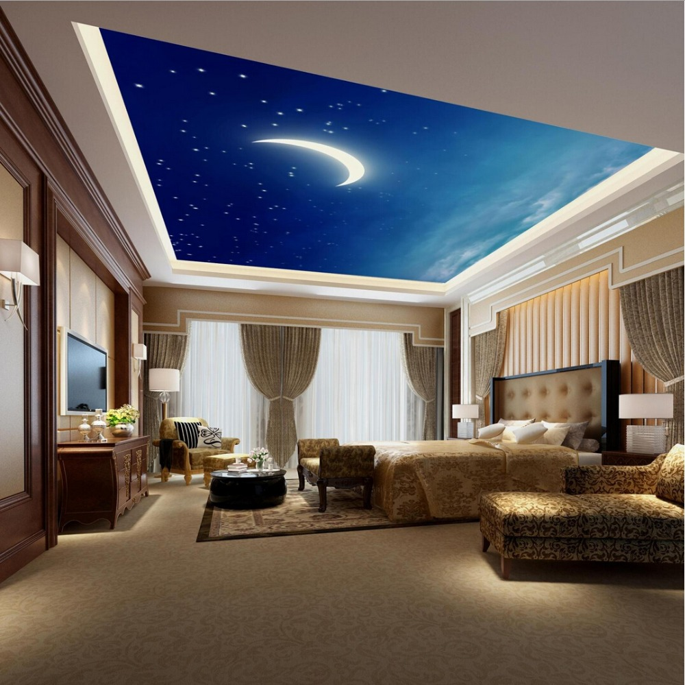 Starry night pub and bar ceiling murals wallpaper living room starry night pub and bar ceiling murals wallpaper living room bedroom ceiling wall murals in wallpapers from home improvement on aliexpress alibaba amipublicfo Image collections