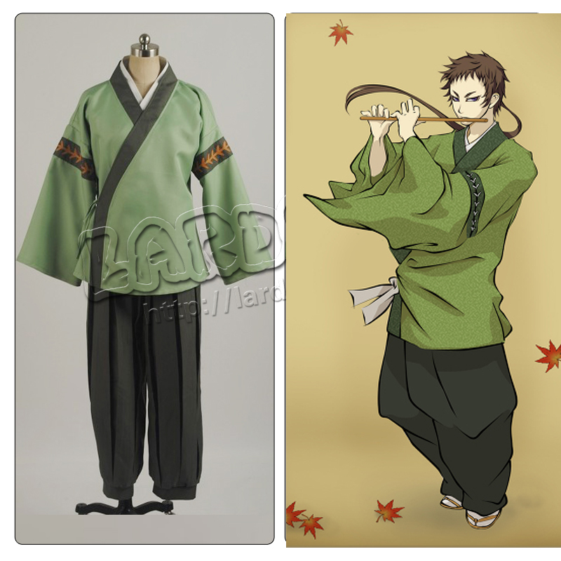 Anime Hakuouki Yamazaki Susumu Cosplay Costume Custom made Any Size