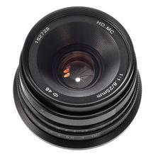 25mm F/1.8 Prime Lens Manual Focus MF For Fujifilm Fuji X-mount X-H1 X-E3 X-E2S X-A10/A20 X-T1/T10 X-Pro1/Pro2 цена