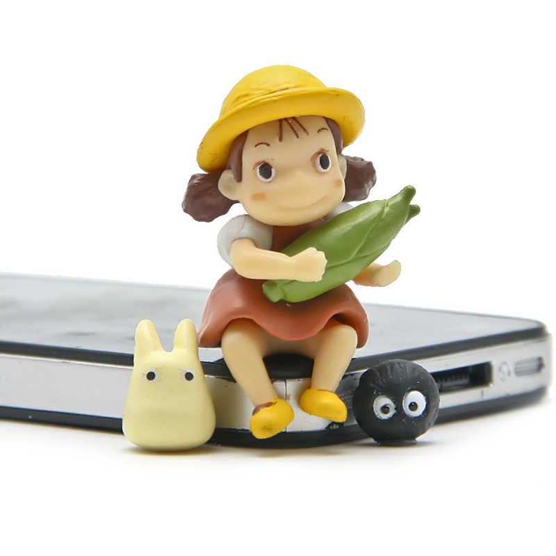 Micro Landscape Meaty Plants Xiaomei Holding Corn Micro World Garden Small Ornament Diy Ornaments Home Decor Miniature Garden