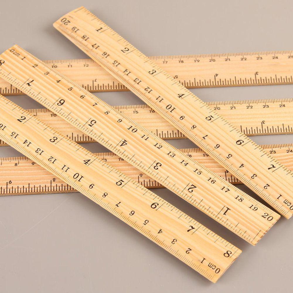 R/ègle en bois double face 15 cm 20 cm 30 cm 15cm