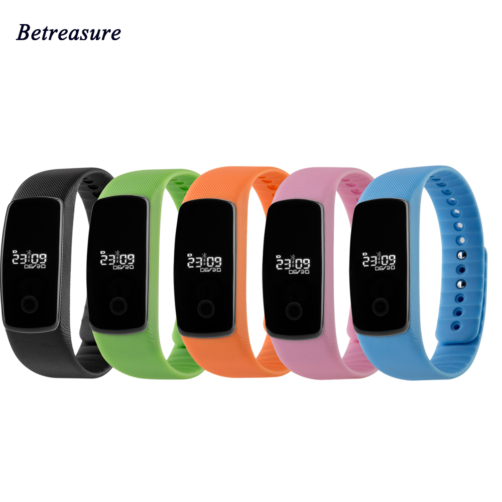 Betreasure M01 Smart Bracelet Pedometer Heart Rate Monitor Waterproof Smart Wristband Sport Bluetooth Smart band For