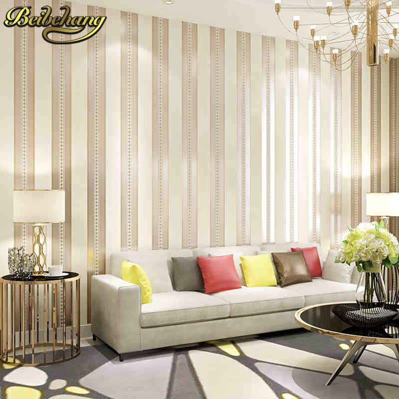 tv sofa micasa bettsofa molina beibehang stripe wallpaper roll simple background living room bedroom backgroumd flooring wall paper