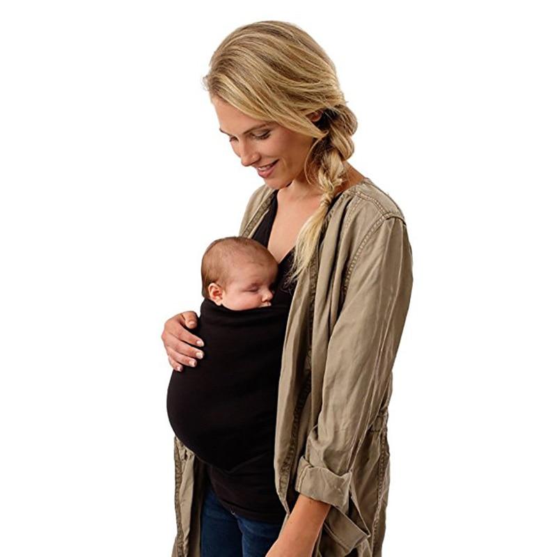 Women Carrier Baby T-Shirt Maternity Christmas Tees Tank Sleeveless Lovely Baby Print T Shirt Black Pregnant Tops