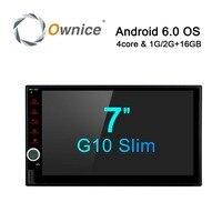 Ownice Android 6 0 GPS Navigation 7 Inch 2 Din DVD 1024x600 Car Radio BT USB