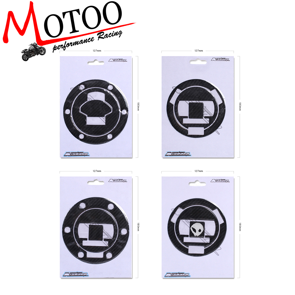 Motoo - Gas Cap Tank Pad Decal Emblem ADESIVI 3D CARBONIO PROTEZIONE Special For Bmw HP4 S1000RR S1000R R1200 BMW R1200GS kodaskin carbon 3d adesivi sticker decal emblem protection tank pad gas cap z1000 2012 2015