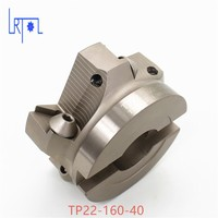 TP22 160 40 90 Degree Right Angle Shoulder Face Mill Head CNC Milling Cutter,milling cutter tools,carbide Insert TPMN1603
