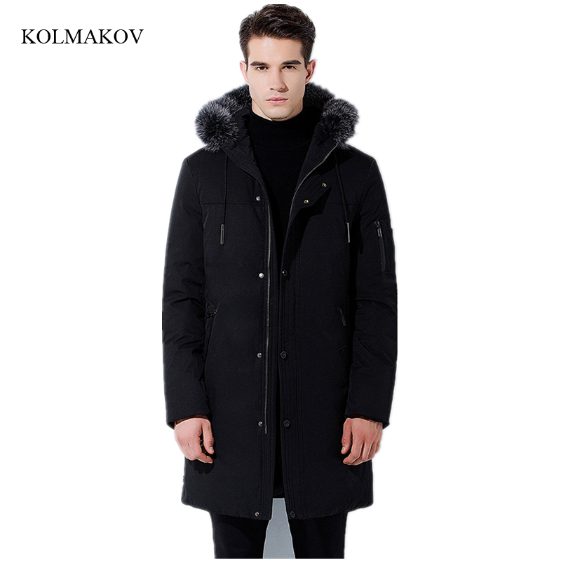 2017 new arrival winter style men boutique   down     coats   fashion casual hooded slim   coat   men's thick solid zippers   coat   size M-3XL