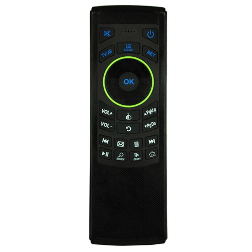 FM5 2.4G Sem Fio Fly Air Mouse Teclado Para Jogos Em Rede de Controle Remoto para Smart TV IPTV Set-top Box Caixa de TV Android