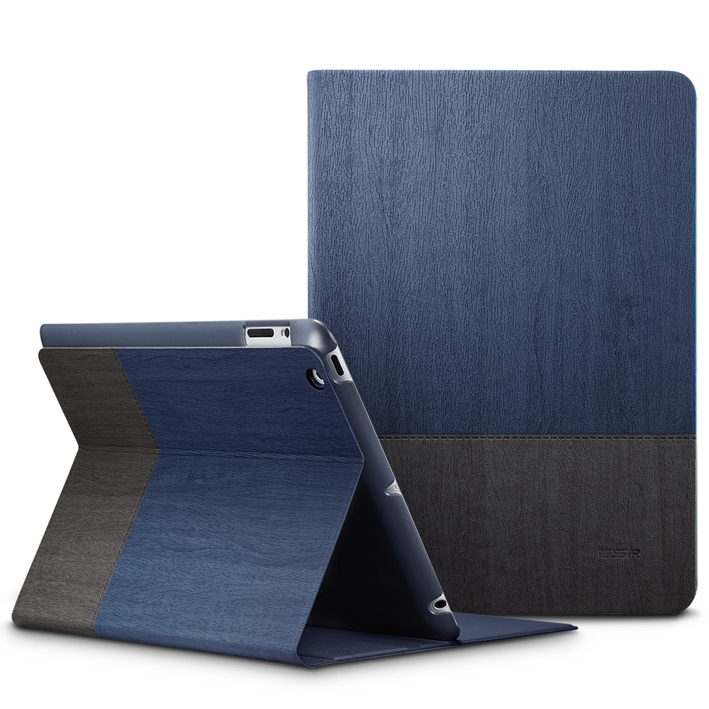 Case for iPad 2 3 4, ESR PU Leather Smart Cover Folio Case Stand with Auto Sleep/ Wake Function ecology Cover for iPad 2 3 4 sgl luxury ultra smart stand cover for ipad air 1 ipad5 case luxury pu leather cover with sleep wake up function for ipad air1