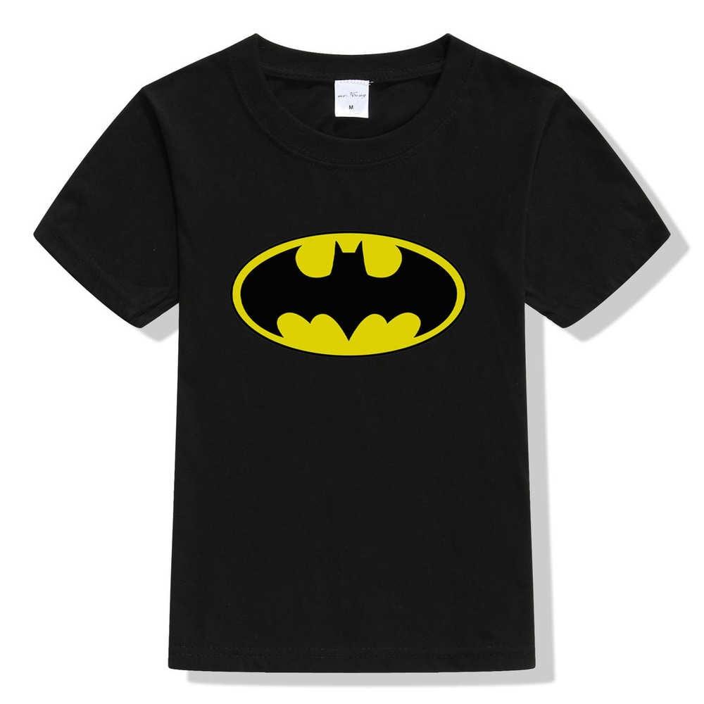 2017 Summer Children's clothing Baby boys girls T-shirt batman cartoon Tshirt tops superhero kids T shirt 3-10Y superman tees