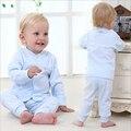100% Хлопок Одежда для Новорожденных Набор Мальчиков Одежда Устанавливает Мода Розовый Желтый Голубой Младенческой Белье