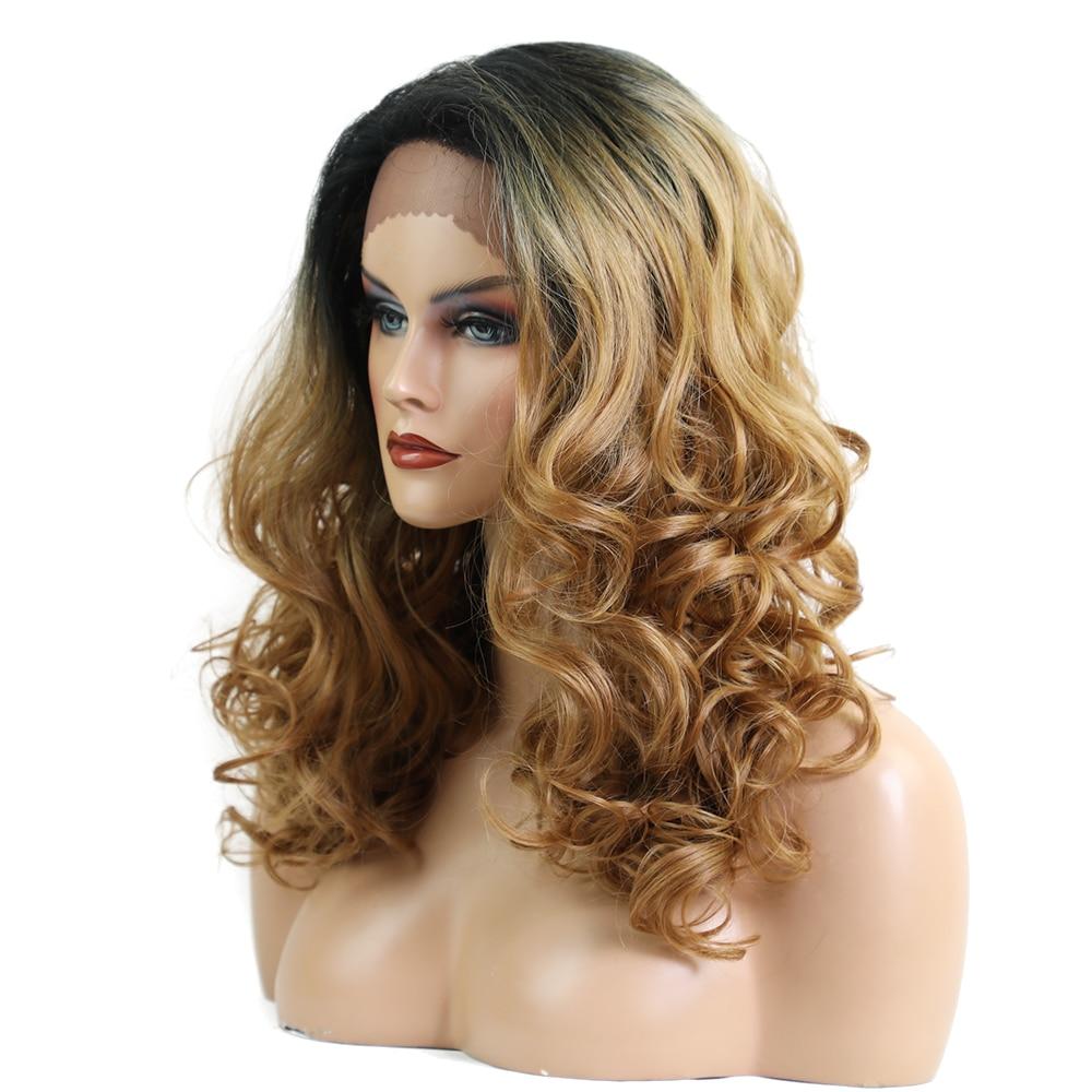 Στοιχείο 20 ιντσών μακρύ κυματιστό Lace - Συνθετικά μαλλιά - Φωτογραφία 3