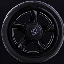 Black Fitness Wheel