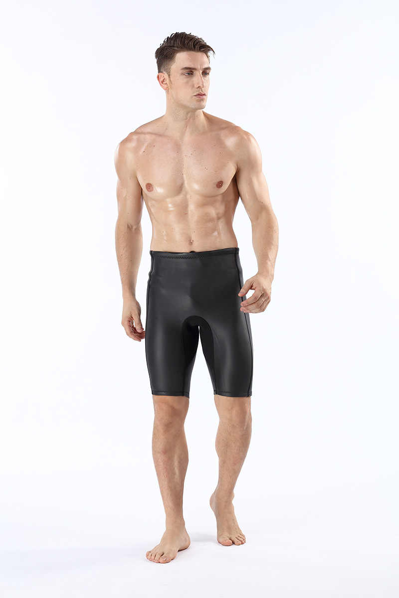 156ae96439910 ... 2mm Neoprene Men's Wetsuits Shorts Thick Warm Black Diving Shorts Pants  Snorkeling Winter Swimming Smoothskin Trunks