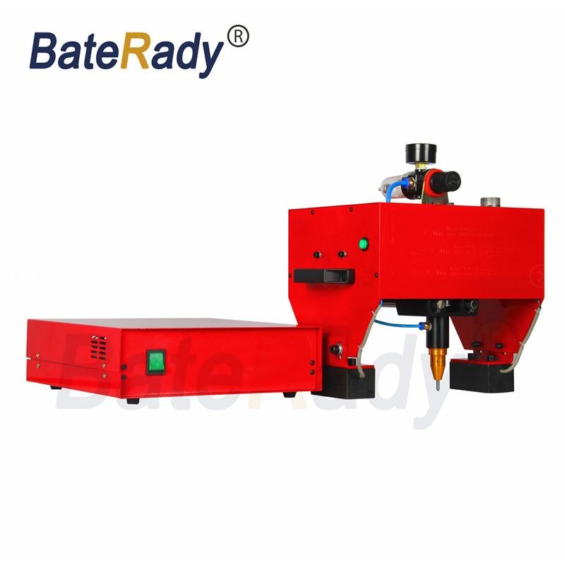 QD1711 BateRady Handheld pneumatic marking machine,Portable industrial tag machine,metal parts engraving machine 170*110mm цены онлайн