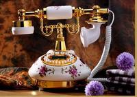 Telefone telefone de casa oferta especial nova moda retro europeia