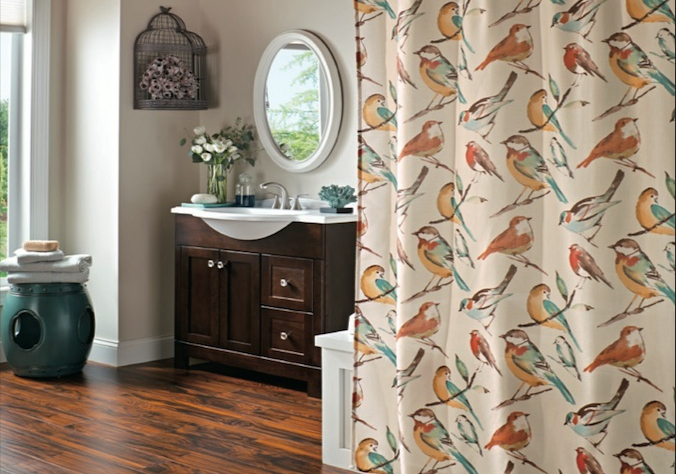 Canvas Shower Curtains - Curtains Design Gallery
