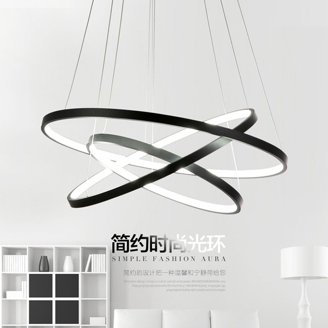 Luminaire Suspension Led modern lustre pendant lights lamp for kitchen dining room suspension