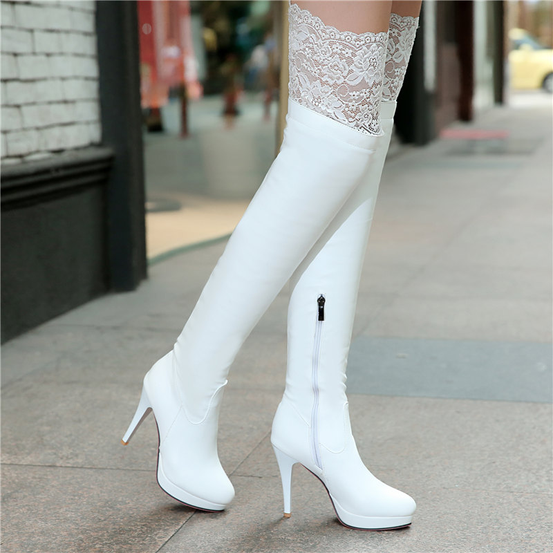 Compare Prices on Winter White Thigh High Boots- Online Shopping