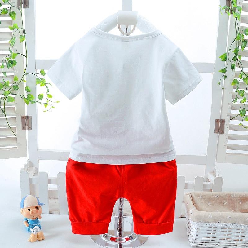 100% medvilnės šaltas kūdikių berniukų drabužių rinkinys - Kūdikių drabužiai - Nuotrauka 4