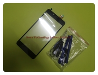 Wyieno bq5594 sensor telefone peças de reposição para bq 5594 BQ 5594 greve potência max touch screen digitador vidro painel rastreamento|Painel de toque p/ celular|   -