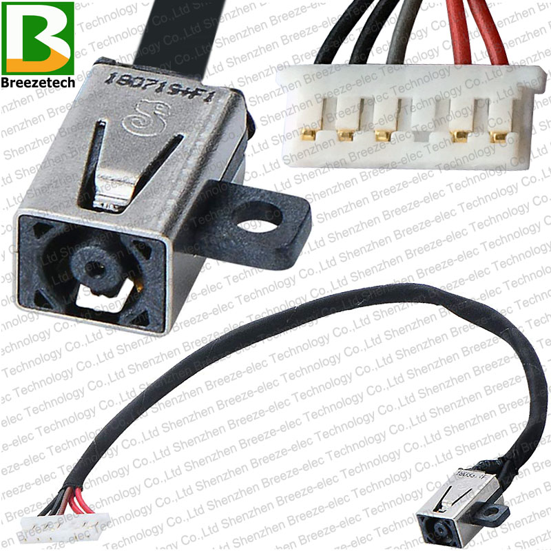 DC POWER JACK Socket PLUG CABLE Connector FOR Dell Inspiron 14-i3452 Vostro 15 3000 3451 3558 3458 5458 3552 3568 450.03006.0001