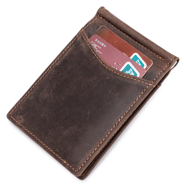 Vintage Money Clip Men Wallet
