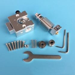 3D akcesoria do drukarek buldog wytłaczarki do reprap kompatybilny z E3D V6 J głowica ekstrudera wszystkie metalowe dla 1.75/3.0mm filameter w Części i akcesoria do drukarek 3D od Komputer i biuro na