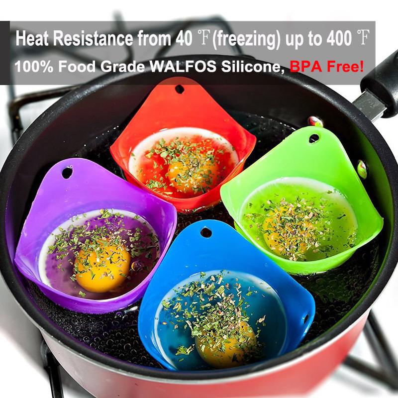 heat resistant egg poacher