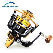 12BB 5.5:1 Spinning Fishing Reel Metal Coil peche Spinning Reel Fishing Tackle 2000 – 7000