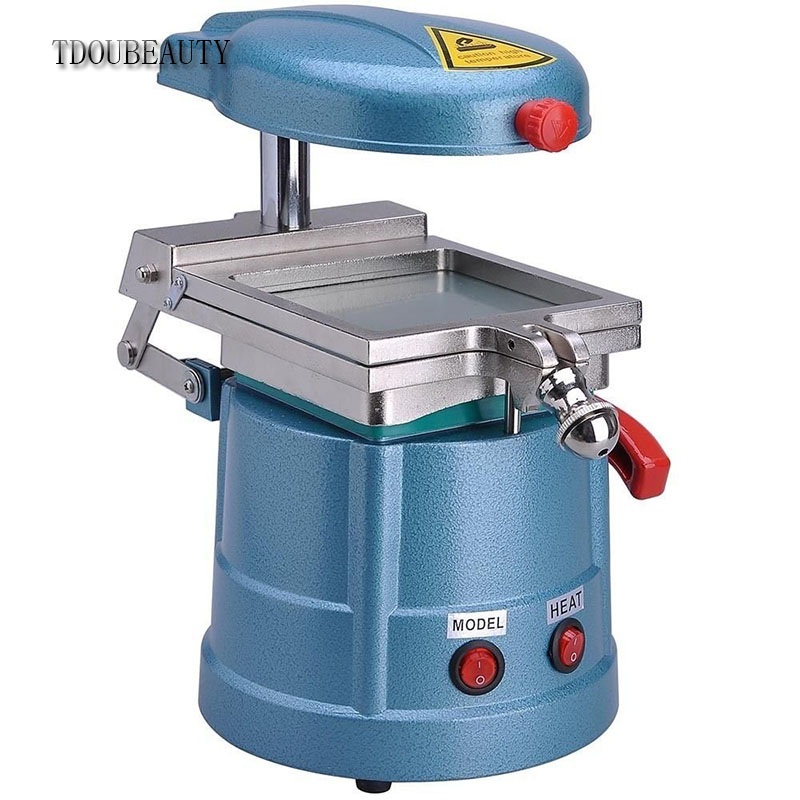 Excellent High Quality Vacuum Former Forming Machine Dental Lab Equipment TDOUBEAUTY-JT18 by TDOU Free Shipping dental lab equipment of polymerization and press former unit