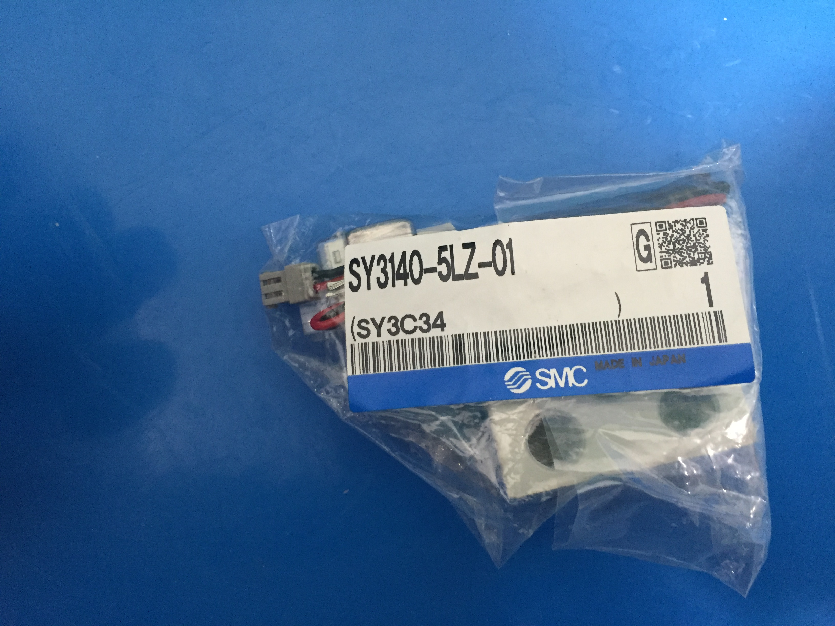 new original SY3140-5LZ-01 solenoid valve 196 01