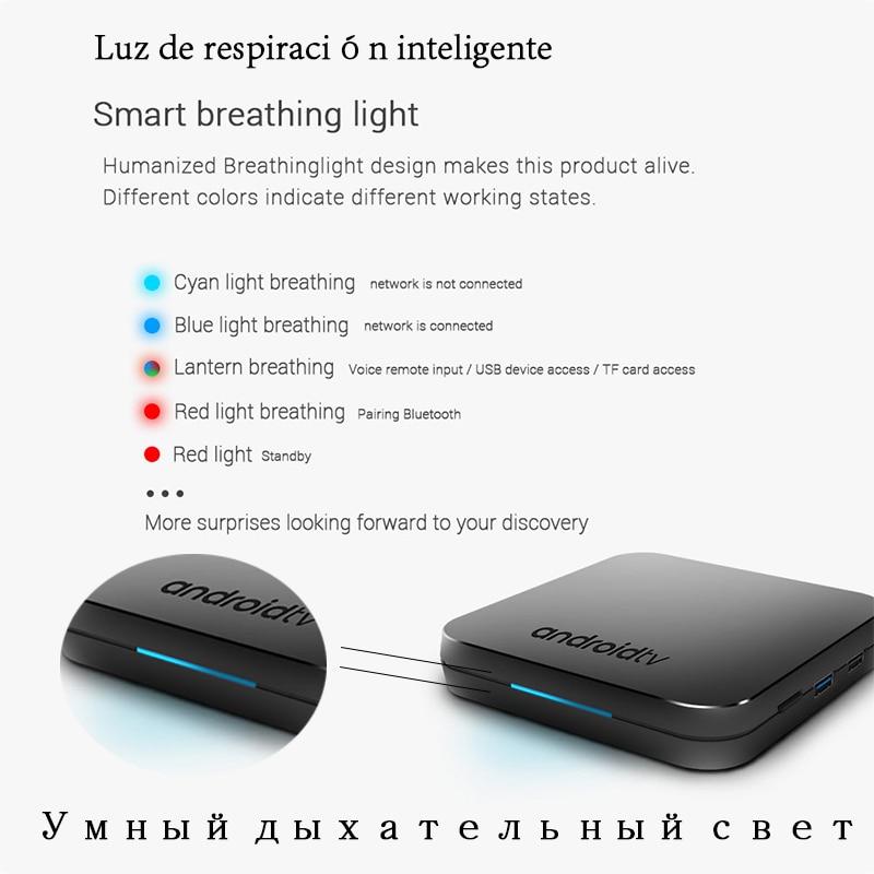 2019 Nouveau MECOOL KM9 Android 9.0 TV Box Amlogic S905X2 Quad Core 4G DDR4 32G ROM 4 K android 9 boîtier de smart tv USB 3.0 lecteur multimédia - 4