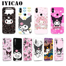 IYICAO Kuromi צבעוני CuteSoft מקרה עבור Huawei 6A 7A 8X8 לייט פרו 7 3G 7C 5.99in נובה 4 3 3i 2i 8C 9 10 Lite כיסוי(China)