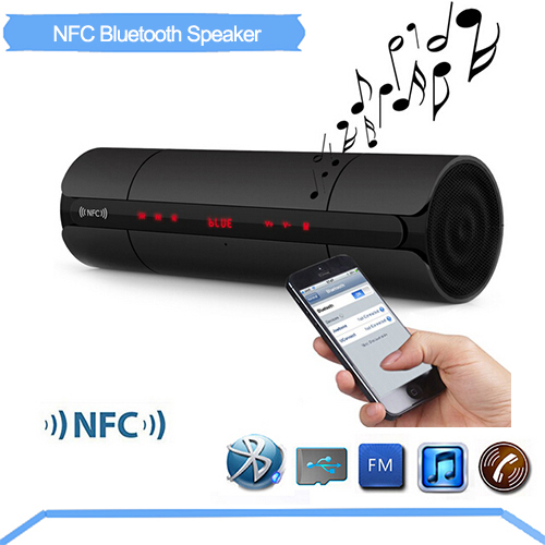 Portable KR8800 NFC HIFI Bluetooth Speaker Wireless Stereo Loudspeakers Super Bass Caixa Se Som Sound Box Hand Free for Phone B0 solo one wireless bluetooth speaker vogue wooden nfc stereo super bass desktop speaker touch button for ios smartphone tablet pc