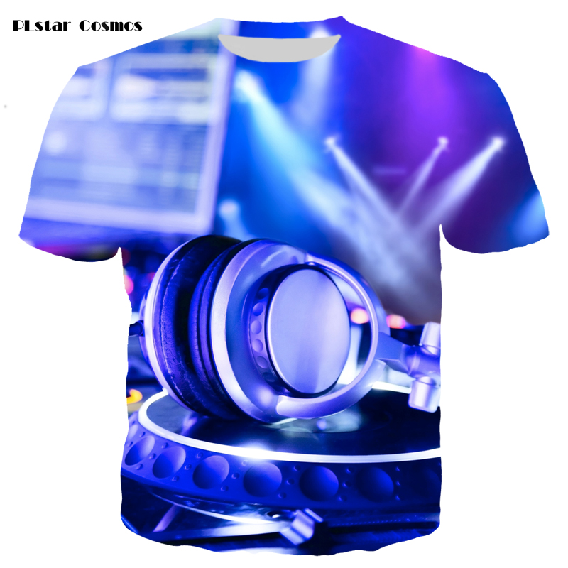 YX GIRL Hot Sale Sound Activated Led Cotton T Shirt Light Up and Down Flashing T-Shirt Men for Rock Disco Party DJ Top Tee