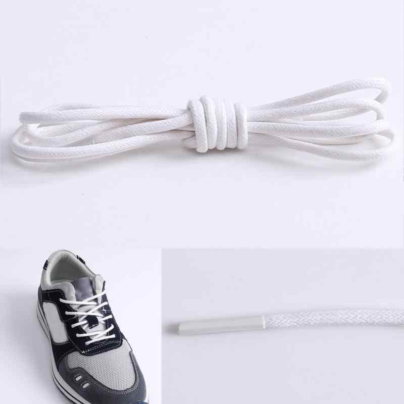 70-80 см вощенный шнур Цветные шнурки эластичные кожаные шнурки для обуви шнурки для спортивной обуви шнур