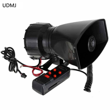 Newest 100W 12V Car Auto Vehicle Truck 5 Sounds Alarm  Siren Horn PA System&Speaker Loud Horn/Siren Max