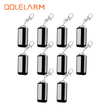 10 pcs wireless 433 MHz portable Metal remote control controller anti theft for wi fi GSM alarm systems security home