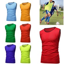 60022f029f51 Sports Soccer Football Basketball Team Sports Breathe Training Bibs Vests  Scrimmage Vests Mesh Adult Youth Pinnies