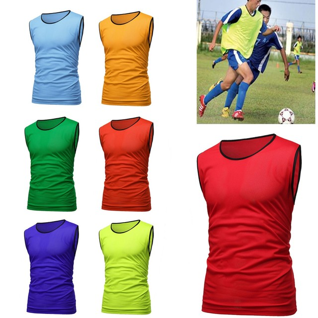 3d6ef0b35c94 Sports Soccer Football Basketball Team Sports Breathe Training Bibs Vests  Scrimmage Vests Mesh Adult Youth Pinnies