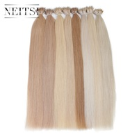 Neitsi Indian Straight Loop Micro Ring Hair Nano Ring Beads Human Hair Extensions 20 1 0g