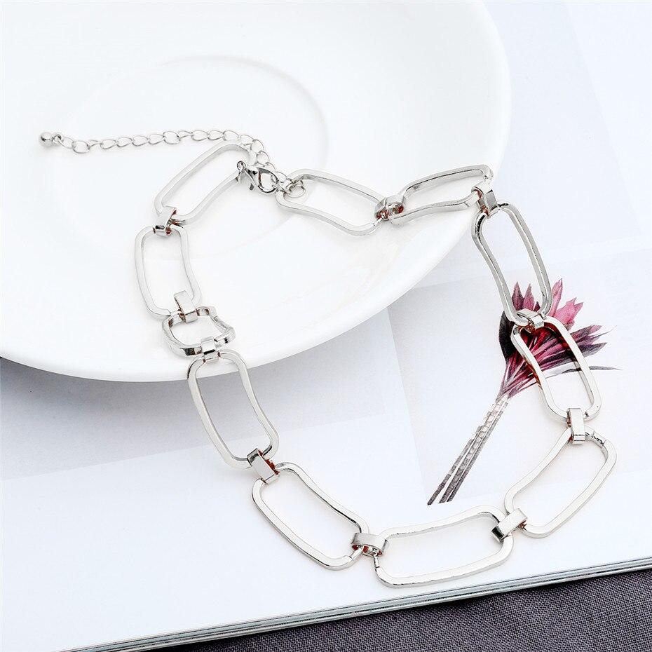 Ingemark Korean Sweet Love Heart Choker Necklace Statement Girlfriend Gift Cute Silver Color Necklace Jewelry Collier Femme 2018 6