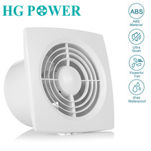 все цены на 6'' 220V Silent Exhaust Fan Grille Ventilation Kitchen Bathroom Air Extractor Toilet Fan Mounted for Wall Window Air Ventilator онлайн