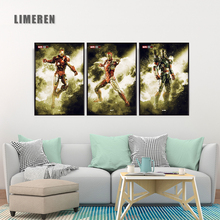 Marvel Comics Wall Art Canvas Poster And Prints canvas Iron Man Mark 4 Mark 7 The Avengers For Unique Gift Party Wall Decor Home marvel comics universe poster