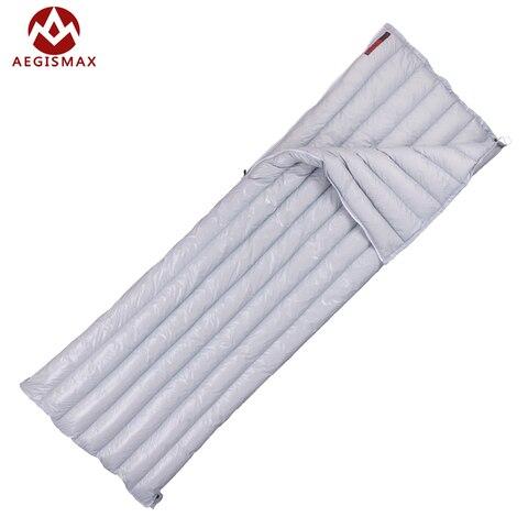 aegismax ultraleves fleabag envelope tipo primavera outono para baixo cheia sacos de dormir ganso branco