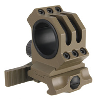 Hot Sale 30mm 25 4mm Rings Fit 20mm Weaver Picatinny Rail Scope Mount QD Quick Release